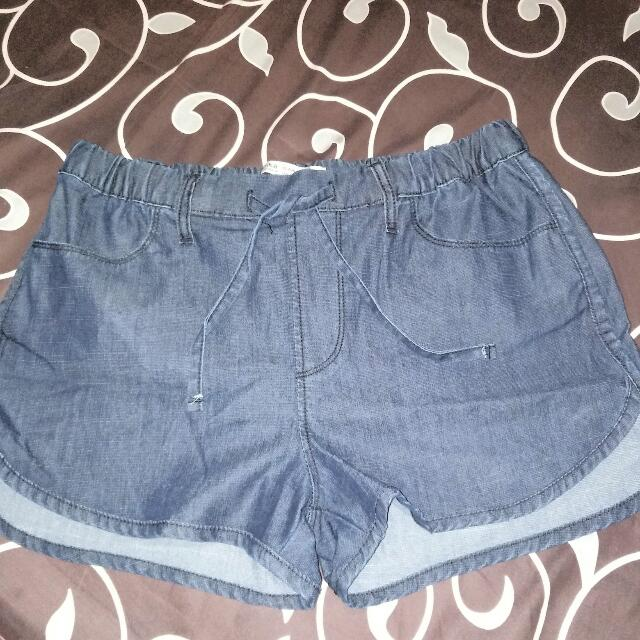 Bershka Short Denim