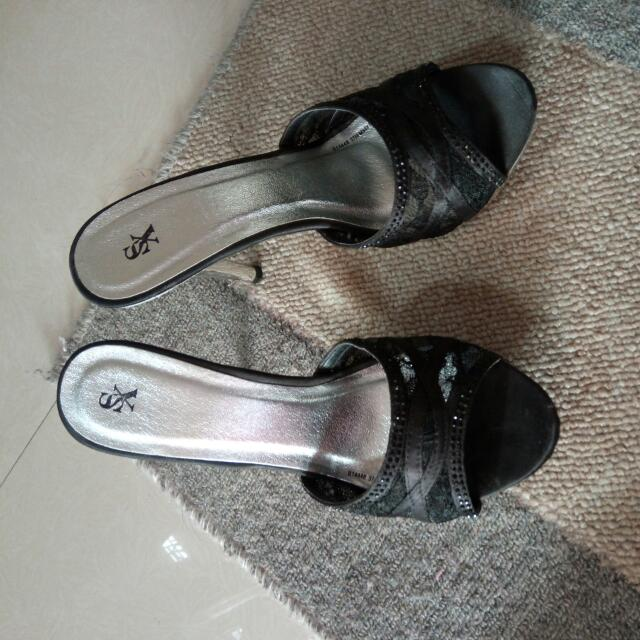 Black Sandals/Party Shoes/ Formal