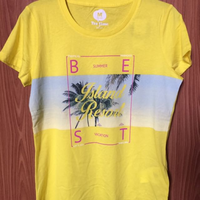 BNew/Authentic Tee time t-shirt by bosini from KSA. 1pc Available in L size only.