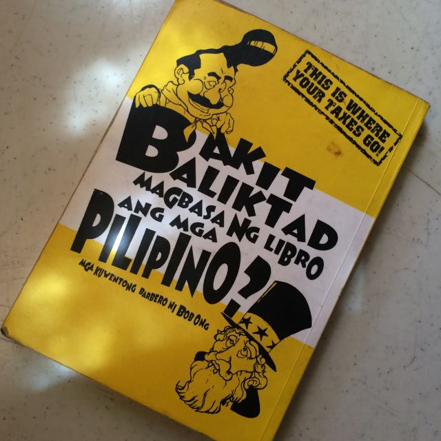 Bob Ong - Bakit Baliktad Magbasa ng Libro ang mga Pilipino