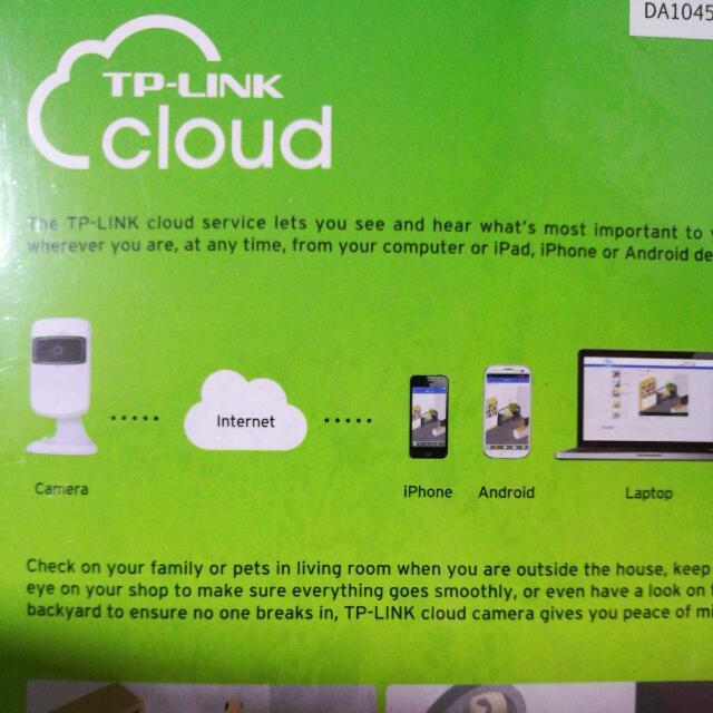 Brand New!! TP Link Cloud Camera NC200
