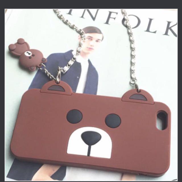 Brown Bear iPhone 7s Hp Caee
