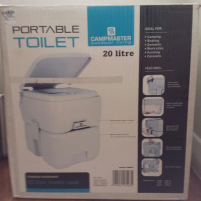 Campmaster Portable Toilet