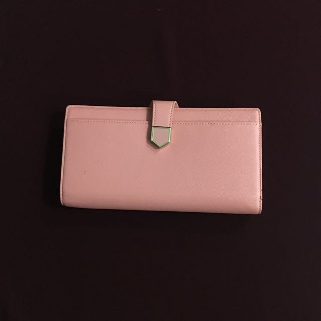 Charles & Keith - Pink Wallet