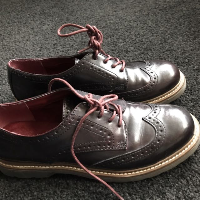 Classic Brown Leather Shoes