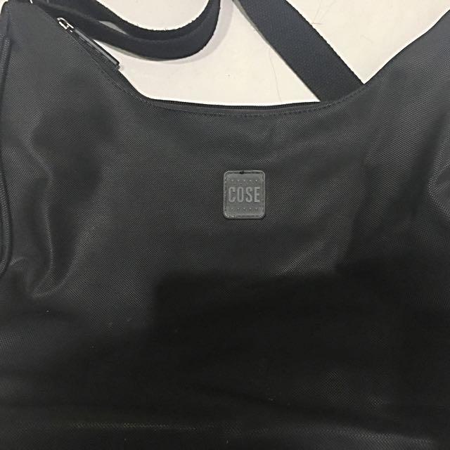 Cose Black shoulder bag
