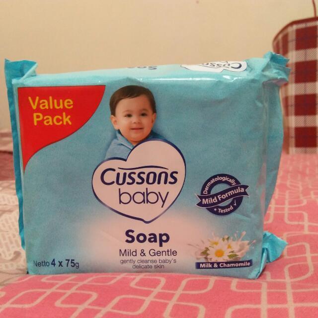 Cusson baby sabun mandi isi 4