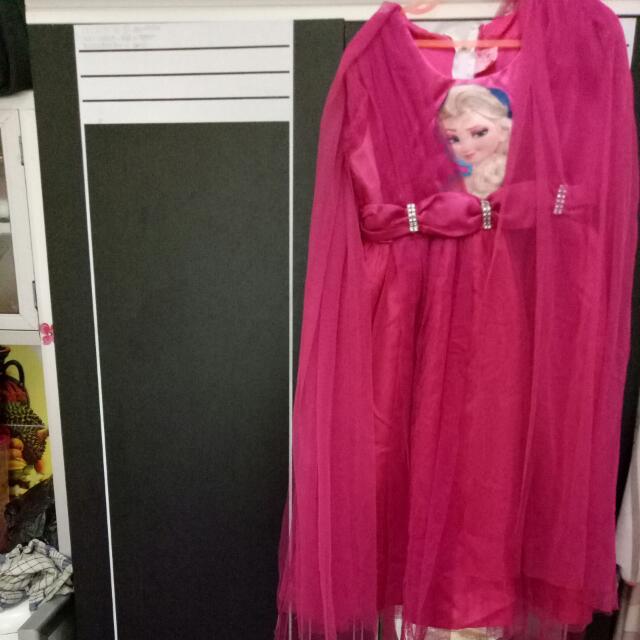 Dress Frozen Pink