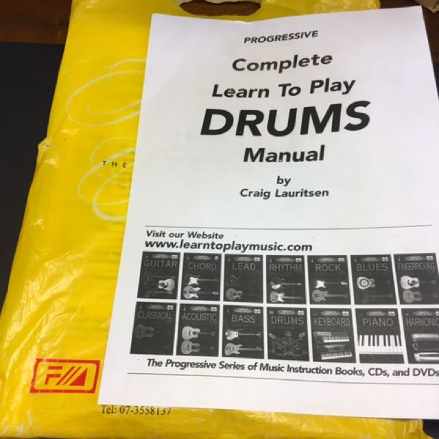 Drums Play Manual