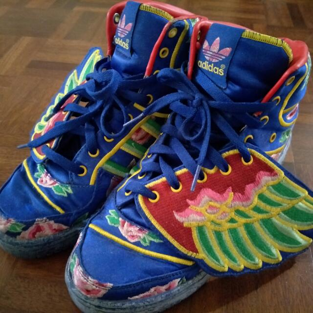 a2827b4f71cc Eason Chan x adidas Originals by Jeremy Scott JS Wings CNY LIMITED ...