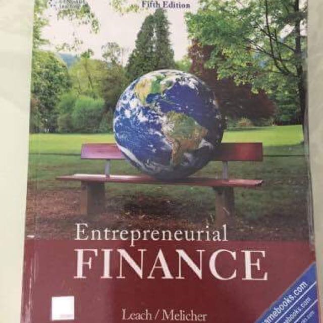 Entrepreneurial Finance Fifth Edition