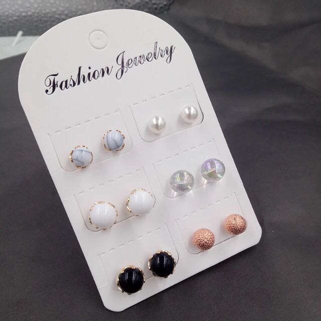 free ongkir ANTING SET STUD forever 21 claires hmm