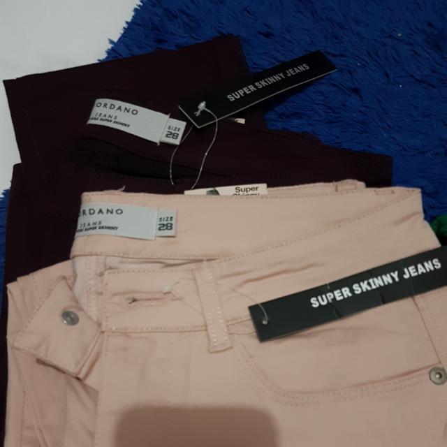 giordano skinny jeans ori