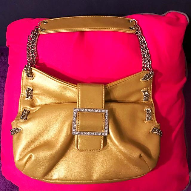 Gold Evening Handbag