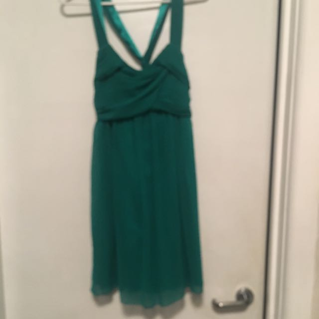 Green Lipsy Cocktail Dress