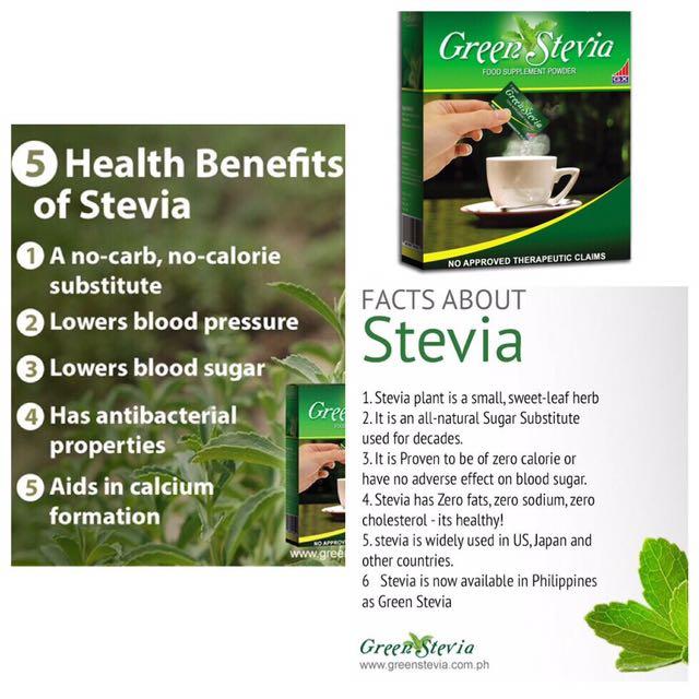 Green stevia natural Sweetener