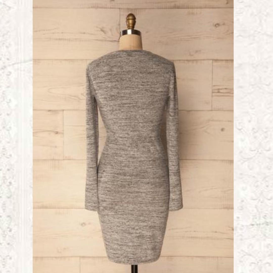 Grey dress (Size Small)