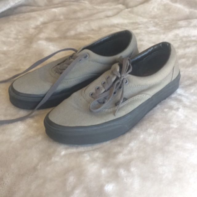 Grey Vans - Size 8 Mens, 9.5 Womens