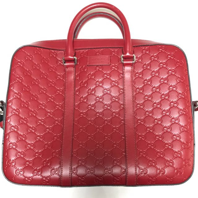 b25a93676f6 Gucci Laptop Briefcase