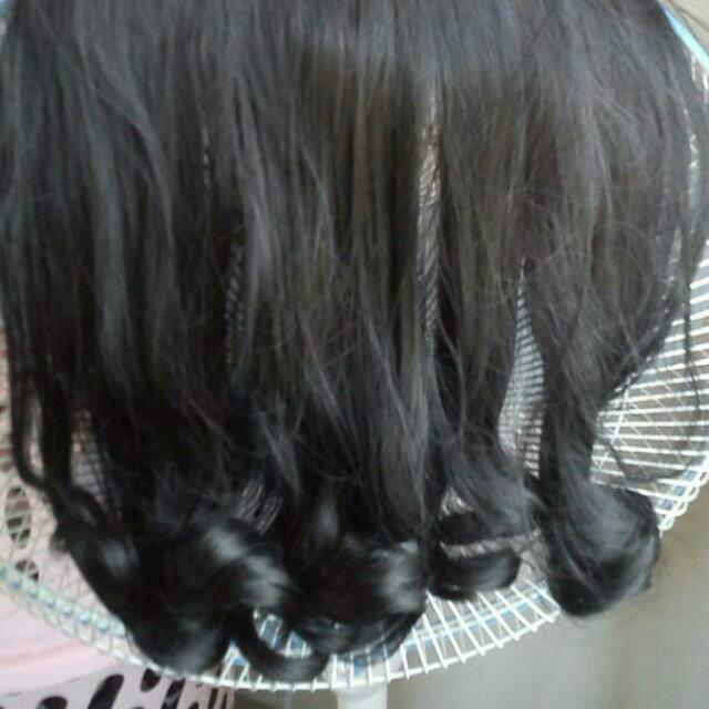 Hairclip Bottom Curly 40cm