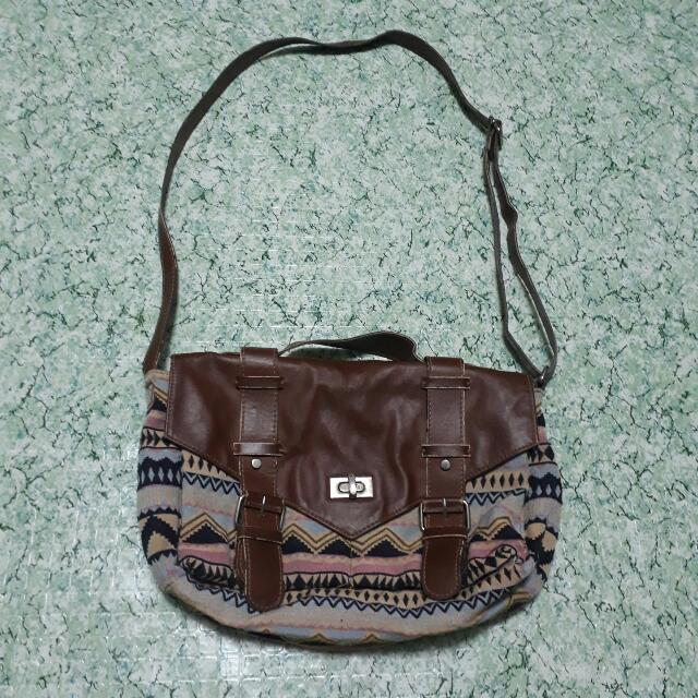 H&M Aztec Satchel Bag