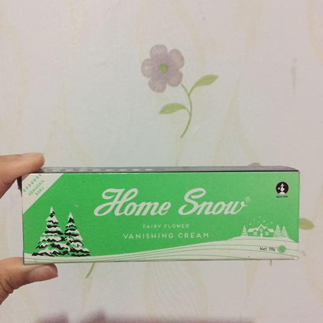 HOME SNOW VANISHING CREAM