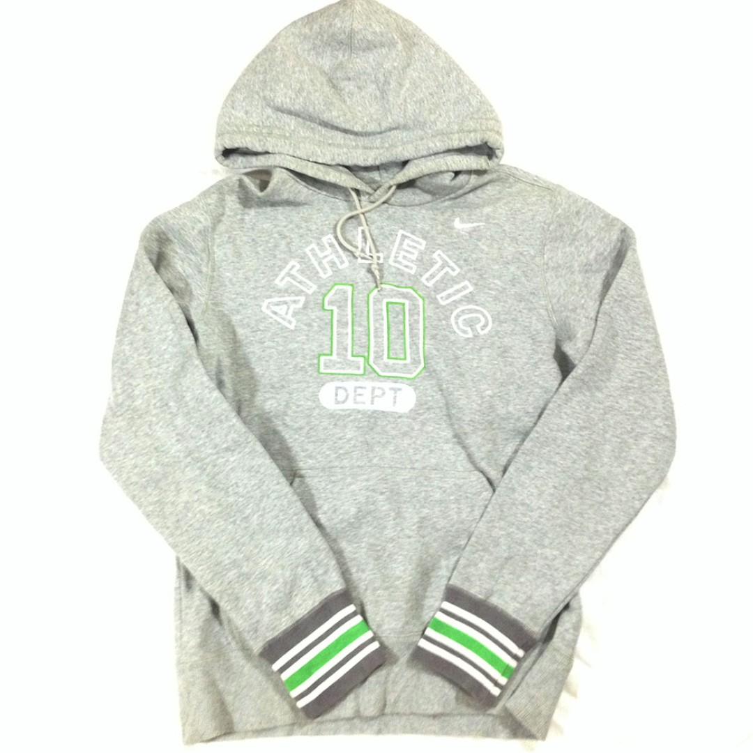 Hoodie Nike Athletic Dept 10 Full Tag Size L Second Import Murah