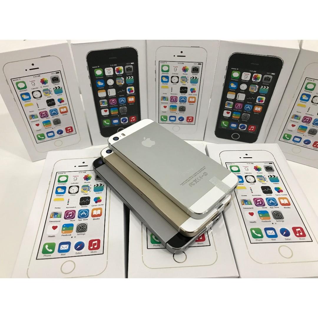 IPHONE 5S 16GB ORIGINAL APPLE PROMO RAYA WITH FULL SET