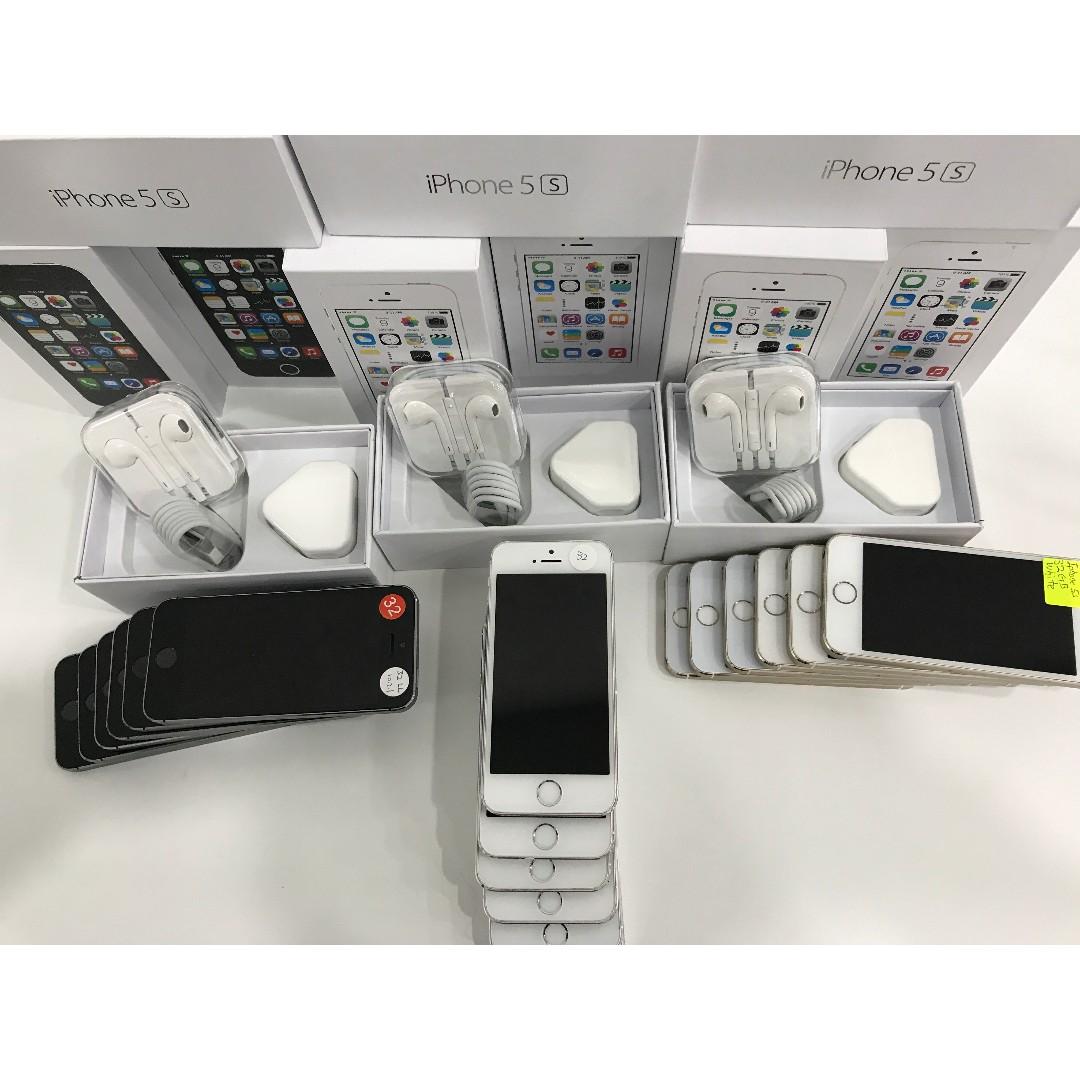 IPHONE 5S 32GB ORIGINAL APPLE COMPLETE BOX SET