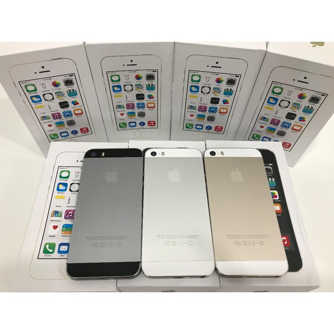 IPHONE 5S 64GB ORIGINAL APPLE FULL SET