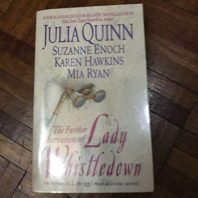 Julia Quinn Plastic Covered Books