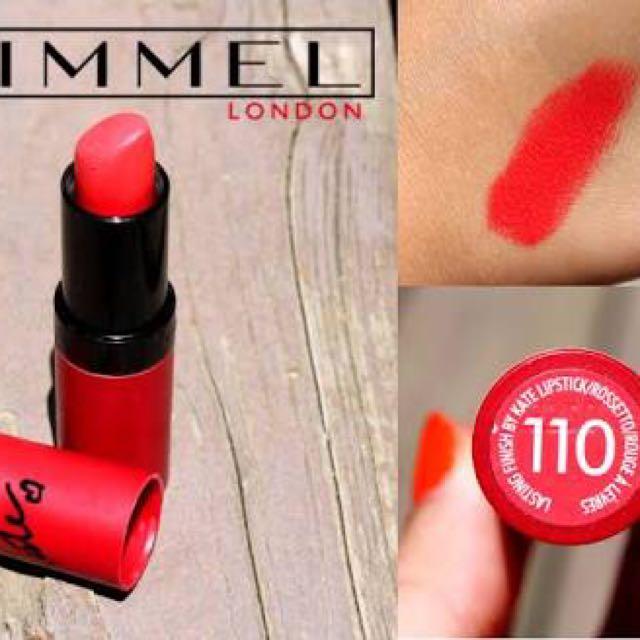 Kate Rimmel London New 100% Lipstick 110 Authentic