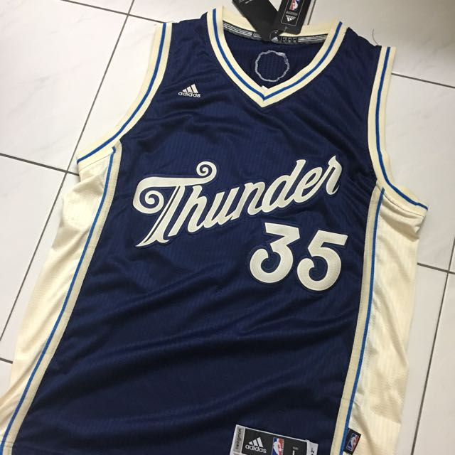 low priced 3f977 ce66d Kevin Durant Oklahoma City Thunder Christmas Jersey