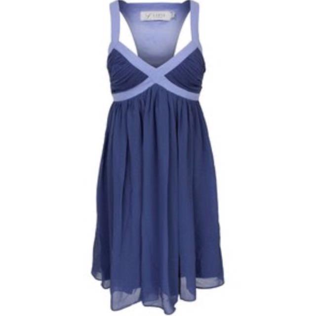 Lipsy London Blue Icaria Dress