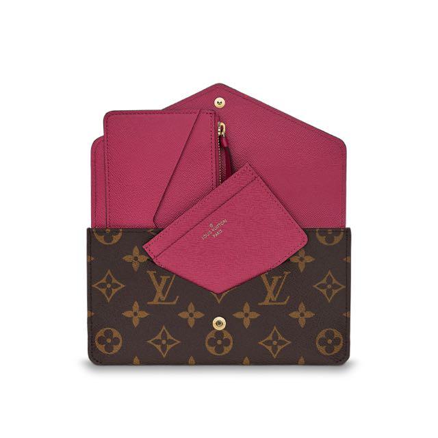 8a6a775f7127 Louis Vuitton Jeanne Wallet (Fuchsia)