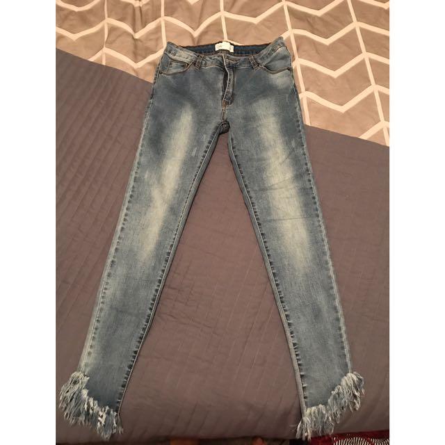 Size 10 Lunar Jeans - Charlotte Lane Clothing