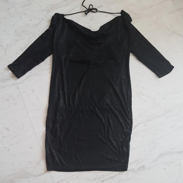 Lux LBD Backless Dress
