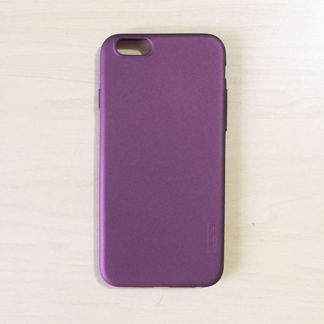 Maroon Thin/slim Iphone 6/6s Case