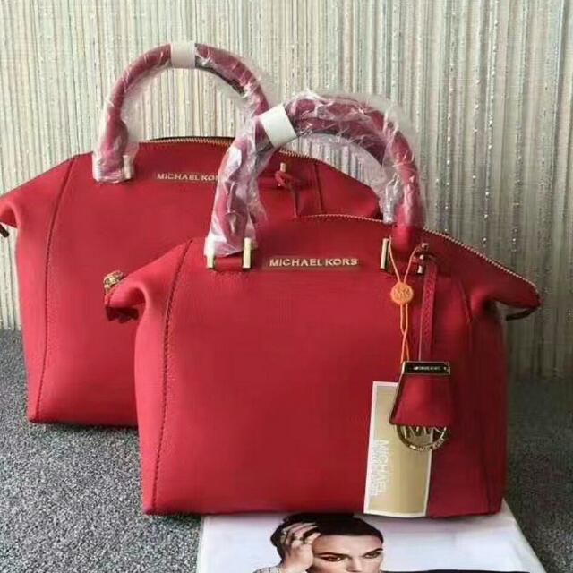 81588917b835 Michael Kors Riley Satchel Crossbody, Women's Fashion, Bags ...
