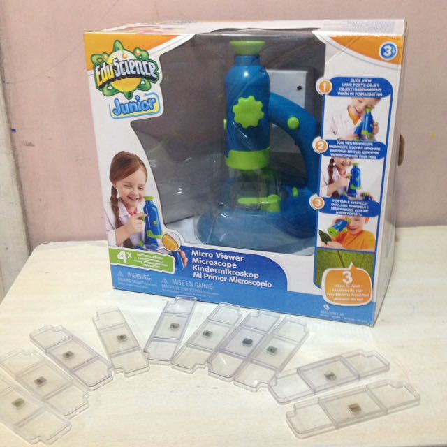 Microscope For Kids with Slides