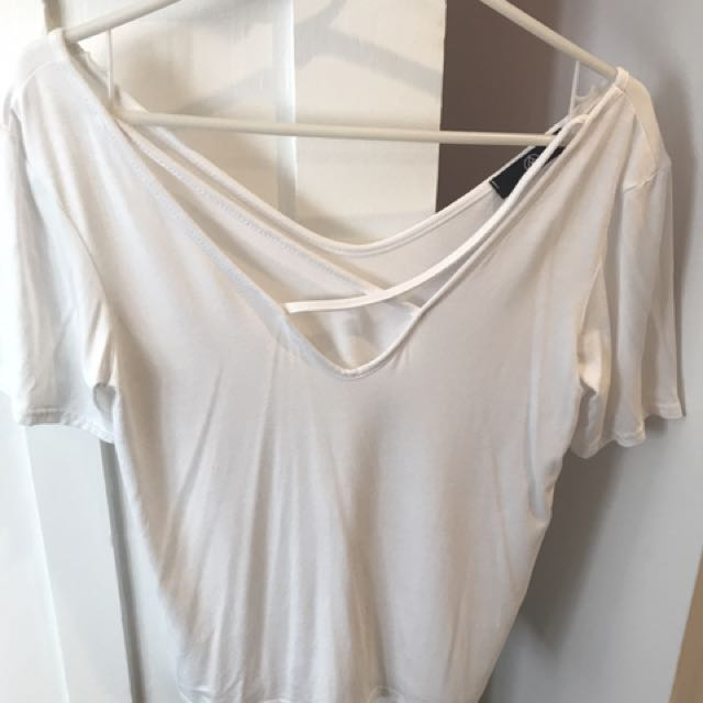 Misguided White Tshirt (Price Reduced!!)