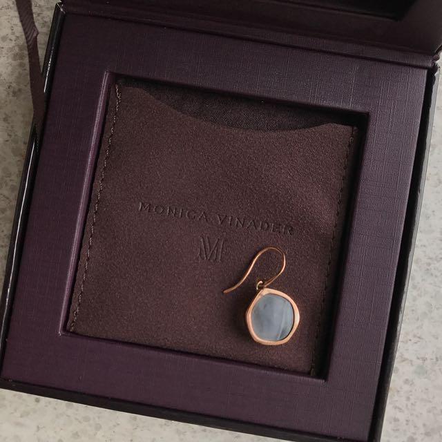 Monica Vinader Single Earrings Rose Gold