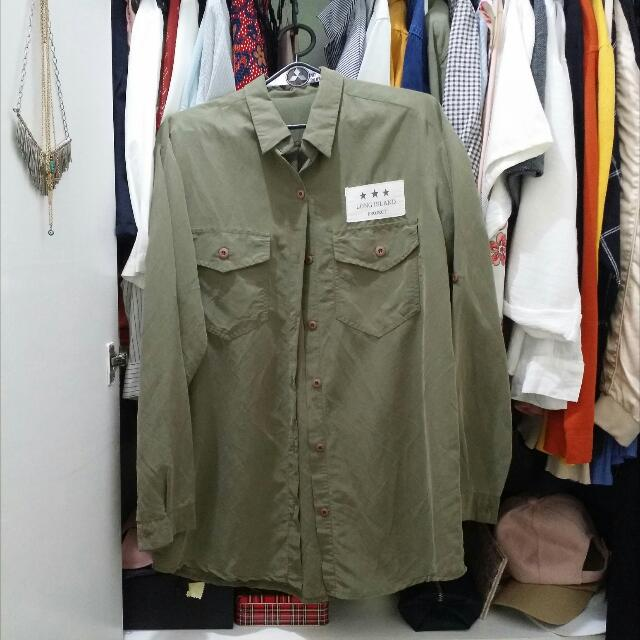 Moss Green/ Olive Green/ Army Green Polo