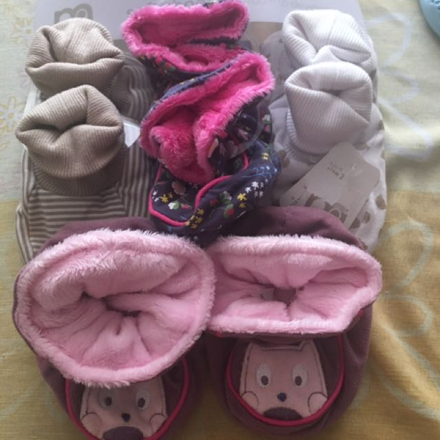 Mothercare soft Shoes from birth to 9mos