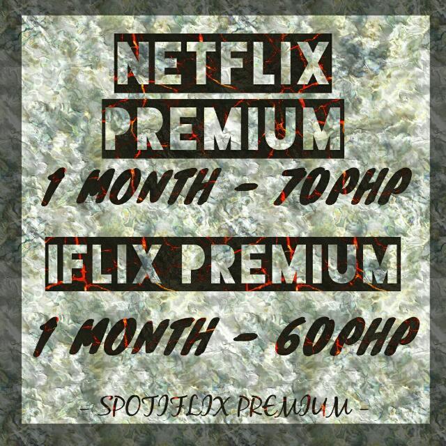 NETFLIX / IFLIX PREMIUM