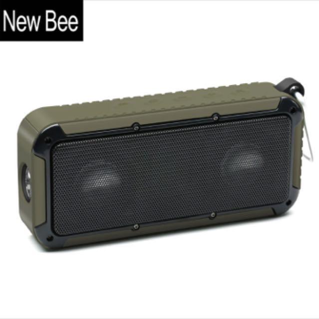 New Bee Waterproof Shockproof Bluetooth Speaker
