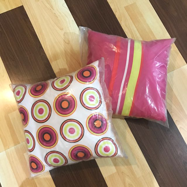 New! Colorful Pillows