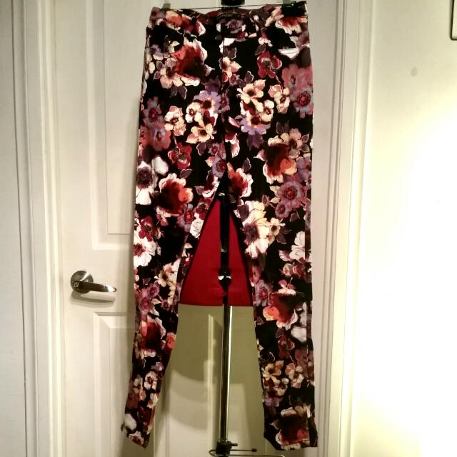 Ninie Size XS Floral Jeans