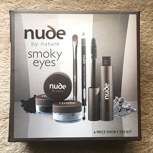 Nude smoky eye kit