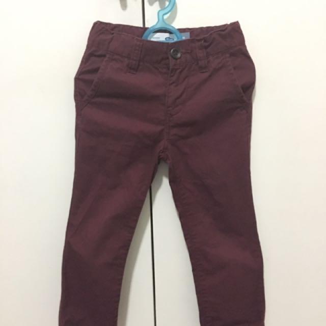 Old Navy Maroon Pants